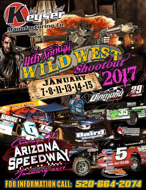 Wild West Shootout Flyer 2017
